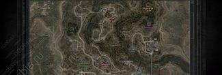 """""""Сталкер: Зов Припяти"""": карта с местоположением аномалий с артефактами на Затоне"""