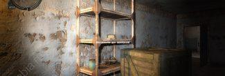 """""""Сталкер: Зов Припяти"""": инструменты для калибровки в кладовке на втором этаже Старого КБО в Припяти"""