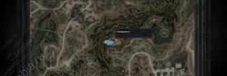 """Карта с местоположением """"Скадовска"""" на Затоне в """"Сталкер: Зов Припяти"""""""