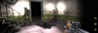 """Тело убитого Моргана в Лесничестве на Затоне в """"Сталкер: Зов Припяти"""""""