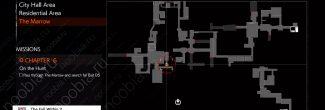 The Evil Within 2: карта с местоположением Загадочного пупса в 6 главе