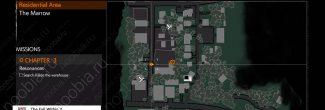 The Evil Within 2: карта с местоположением Загадочной машины в 3 главе