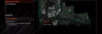 The Evil Within 2: карта с местоположением арбалета Страж в Жилом районе в 3 главе