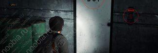 The Evil Within 2: дверь B-34 в подвале автомастерской в Жилом районе Юниона