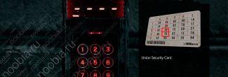 The Evil Within 2: шифр от двери B-34 в подвале автомастерской в Жилом районе Юниона