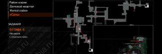 """The Evil Within 2: карта с местоположением серверов в """"Сети"""" в задании """"Снова на связи"""" в 6 главе"""
