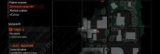The Evil Within 2: карта с местоположением убежища Сайкса в Деловом квартале Юниона в 6 главе