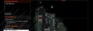 The Evil Within 2: карта с местоположением первого красного геля в Жилом районе в третьей главе