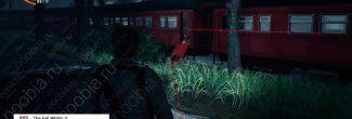 The Evil Within 2: поезд с первым красным гелем в Жилом районе в третьей главе - шаг 1