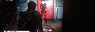 The Evil Within 2: поезд с первым красным гелем в Жилом районе в третьей главе - шаг 3