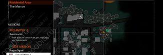 The Evil Within 2: карта с местоположением второго красного геля в Жилом районе в третьей главе