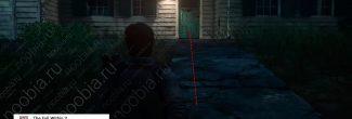 The Evil Within 2: дом 345 со вторым красным гелем в Жилом районе в третьей главе - шаг 1