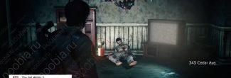 The Evil Within 2: дом 345 со вторым красным гелем в Жилом районе в третьей главе - шаг 2