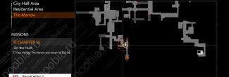 The Evil Within 2: карта с местоположением четвертого красного геля в Убежище Хоффман в шестой главе
