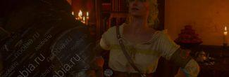 The Witcher 3: Blood and Wine: приезд Цири в Корво Бьянко