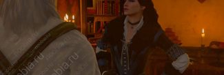 The Witcher 3: Blood and Wine: приезд Йеннифэр в Корво Бьянко