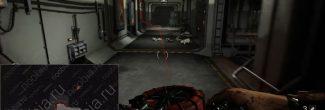 Wolfenstein II: The New Colossus: карта с расположением сжимающего корсета в противоатомном бункере в Манхэттене