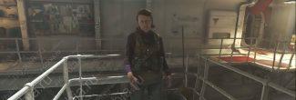 "Wolfenstein II: The New Colossus: Гизела Балог в задании ""Игрушки Макса"" на подводной лодке ""Молот Евы"""