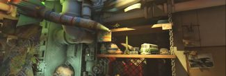 "Wolfenstein II: The New Colossus: детская комната Макса с игрушками на подводной лодке ""Молот Евы"""